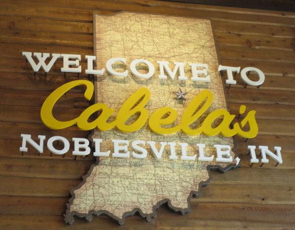 Cabela's Noblesville Sign