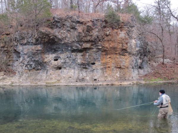 Jeff Fly Fishing Bennet Creek