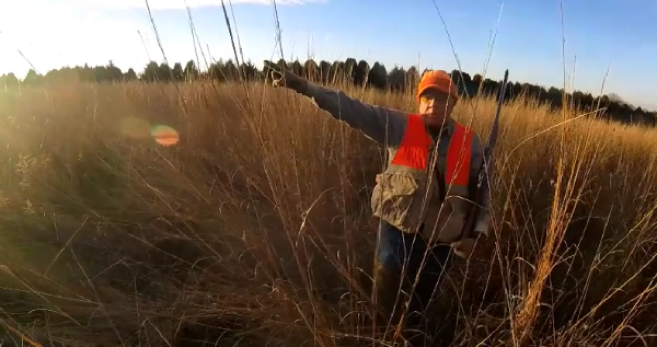 Jim Merten, pheasant hunting