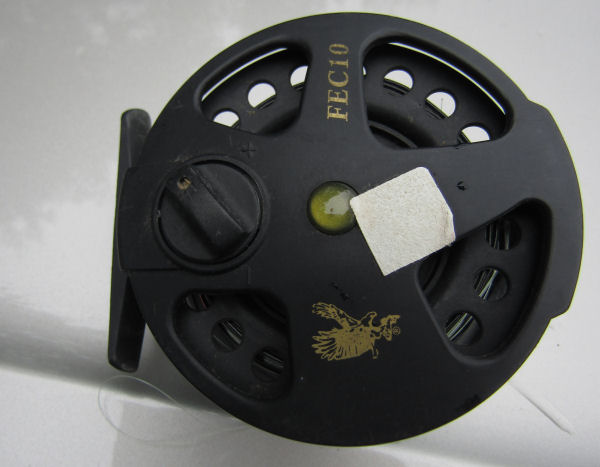 Eagle Claw reel, 5 wt. (FEC 10) with full sink line